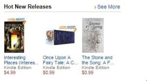 The Stone & the Song hits Amazon Hot New Releases!